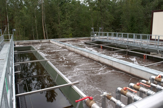 Sewerage in the town of Verkhnedvinsk. Construction stage I