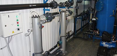 Containerized water treatment plant Crystall-NK