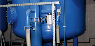 Pressure block-modular ion-exchange water treatment plant Crystall-IO