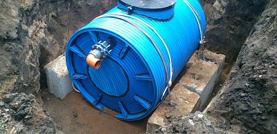 Tank for drinking water and technical liquids RChV-SV